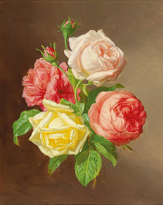 Painting - Roses 2 by Andreas Lach