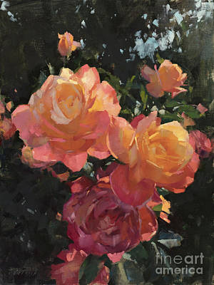 Painting - Roses In Washington Park by Patrick Saunders