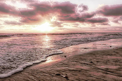 Photograph - Rosy Sunset by Alison Frank