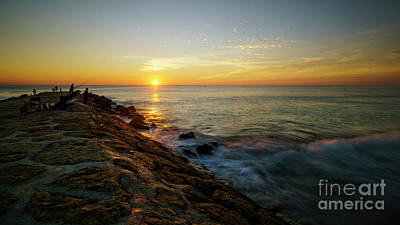 Photograph - Rota Spain Sunset by Pablo Avanzini