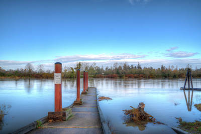 Photograph - Rotary Park Boat Launch by Spencer McDonald
