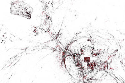 Digital Art - Rotten Apple by Jeff Iverson