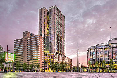 Photograph - Rotterdam Central District by Frans Blok
