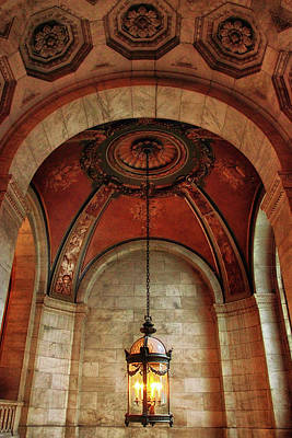 Photograph - Rotunda Ceiling by Jessica Jenney
