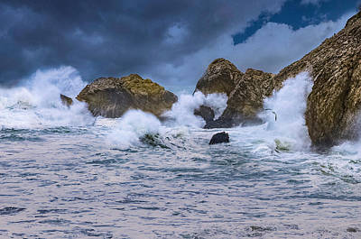 Photograph - Rough Seas by PhotoWorks By Don Hoekwater
