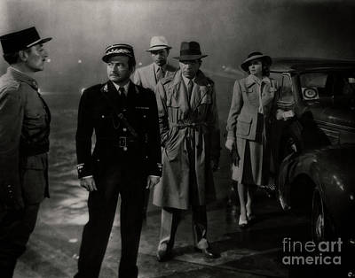 Photograph - Round Up The Usual Suspects - Casablanca by Doc Braham