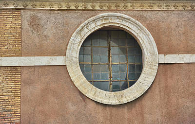 Photograph - Round Window by JAMART Photography