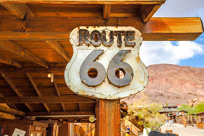 Photograph - Route 66 In Calico by Benny Marty