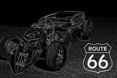 Fruits And Vegetables Still Life - Route66 RatRod by Darrell Foster