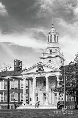Photograph - Rowan University Bunce Hall  by University Icons