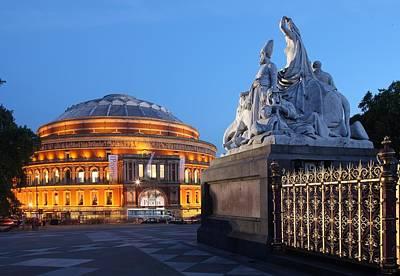 Hyde Park Wall Art - Photograph - Royal Albert Hall by David Bank