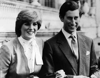 Photograph - Royal Couple by Keystone
