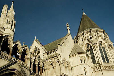 Photograph - Royal Courts Of Justice London by Rmax