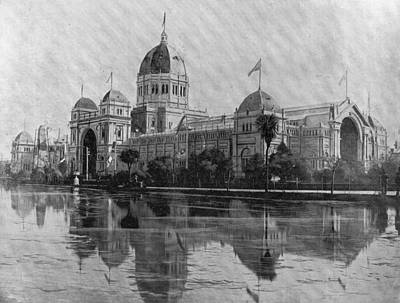 Photograph - Royal Exhibition Building by Spencer Arnold Collection