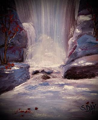 Painting - Royal Falls by Sandra Day