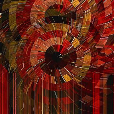 Digital Art - Royal Fireworks by David Manlove