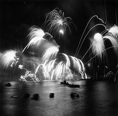 Photograph - Royal Fireworks by Thurston Hopkins