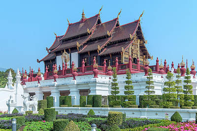 Photograph - Royal Park Rajapruek Grand Pavilion Dthcm2606 by Gerry Gantt