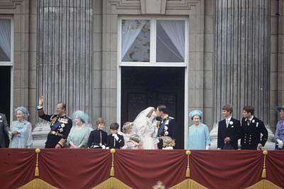 Photograph - Royal Wedding Day by Fox Photos