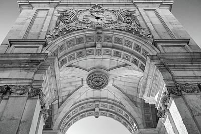 Photograph - Rua Augusta Arch - Lisbon by Georgia Fowler