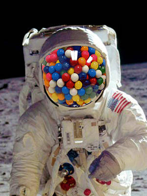 Photograph - Rubino Astronaut Bbble Gum by Tony Rubino