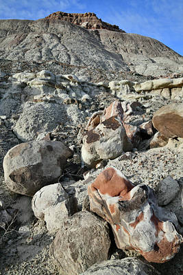 Photograph - Ruby Mountain Boulders Of Color by Ray Mathis
