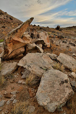 Photograph - Ruby Mountain Rocks At Sunrise by Ray Mathis