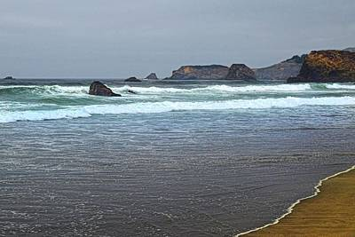 Photograph - Rugged Coast by Frank Wilson