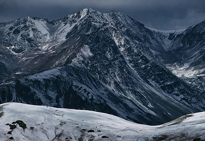 Rugged Rocky Mountains Art Print by Aluma Images