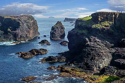 Photograph - Rugged Scottish Coast, Shetland by Arterra Picture Library