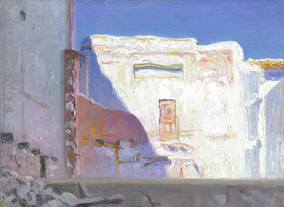 Painting - Ruine At Bolulla Sp by Ben Rikken