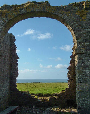 Photograph - Ruined Tower Folly Hartland North Devon by Richard Brookes