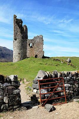 Caravaggio - Ruins of Ardvreck Castle by Nicholas Blackwell