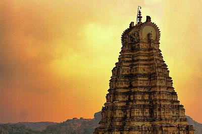 Karnataka Photograph - Ruins Of Vijayanagara In Hampi by Gulfu Photography
