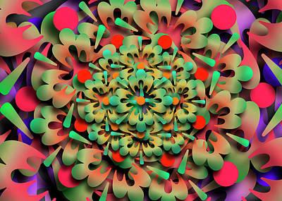 Digital Art - Rumid Remix One by Vitaly Mishurovsky