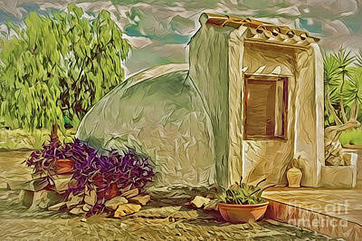 Painting - Rural Cistern A18-42 by Ray Shrewsberry