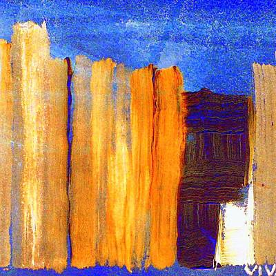 Painting - Rural Landscape 1.1 by VIVA Anderson