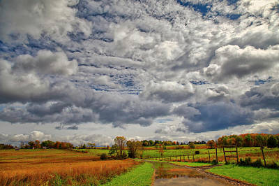Photograph - Rural New Paltz Hudson Valley Ny by Susan Candelario