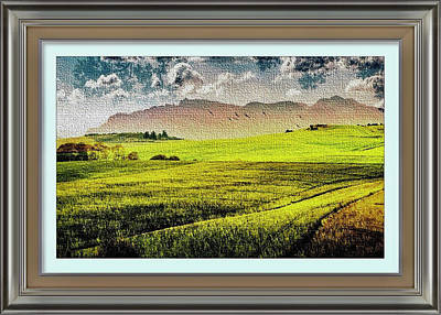 Mixed Media - Rural Romance Montage 1 by Clive Littin