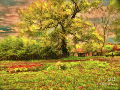 Photograph - Rural Rustic by Leigh Kemp