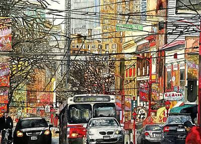 Painting - Rush Hour by Victoria Heryet