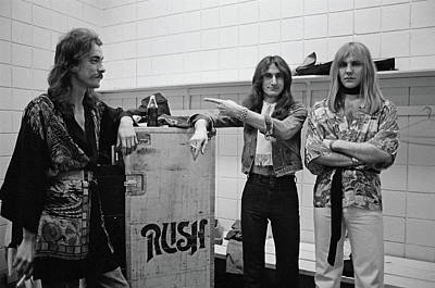 Music Photograph - Rush In Springfield by Fin Costello