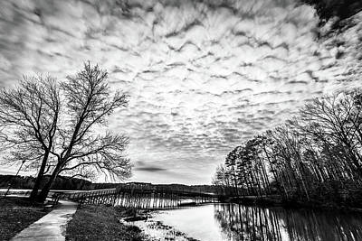 Photograph - Rushing Clouds by James L Bartlett