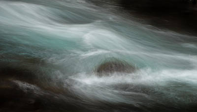 Photograph - Rushing River by Jean Noren