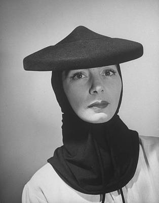 Photograph - Russian-born Dress Designer Valentina by Alfred Eisenstaedt