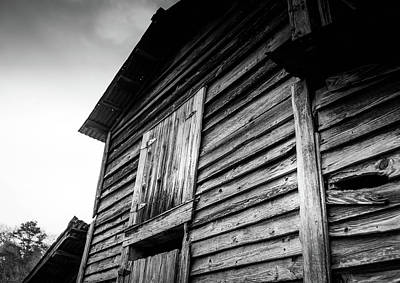 Photograph - Rustic Barn In Bw by Doug Camara