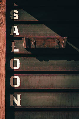Photograph - Rustic Wooden Siding On A Saloon In Colorado by Jeanette Fellows
