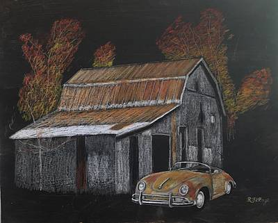 Pastel - Rusty Autumn Colours by Richard Le Page