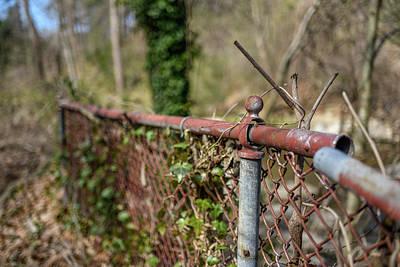 Photograph - Rusty Broken Fence by Doug Ash