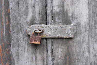 Photograph - Rusty Lock And Latch by Doug Ash